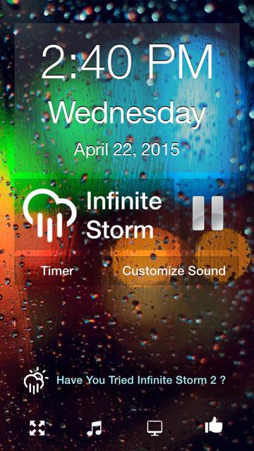 Infinite storm