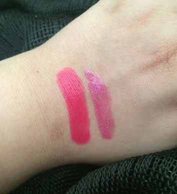 Viva Glam Miley swatches