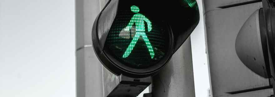 automatic city control crossing