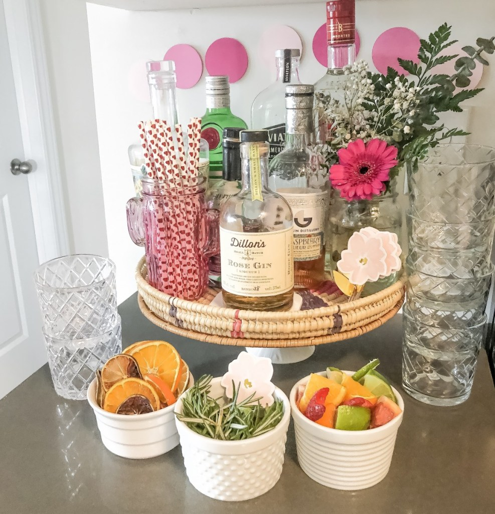 DIY Gin and Tonic bar with Dried Citrus Fruits