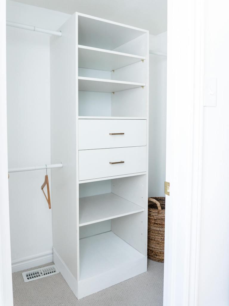 DIY Closet Built-Ins