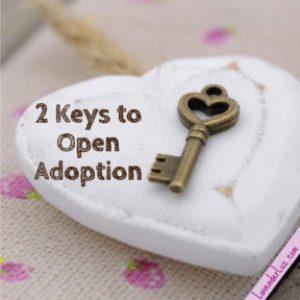 keys to open adoption