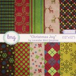 """Christmas Joy Paper Pack"" and we can breathe again!"
