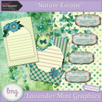 Pixel Scrapper Blog Train Freebie Digital Kit