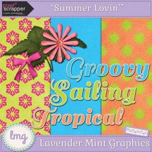 Summer Lovin' Pixel Scrapper Blog Train Freebie