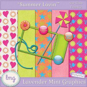 Lavender Mint Graphics newsletter signup freebie