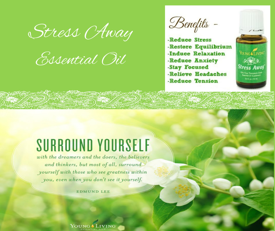 Stress Away Essential Oil My Oil Fixation