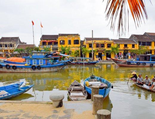 Hoi An Riverside, Vietnam
