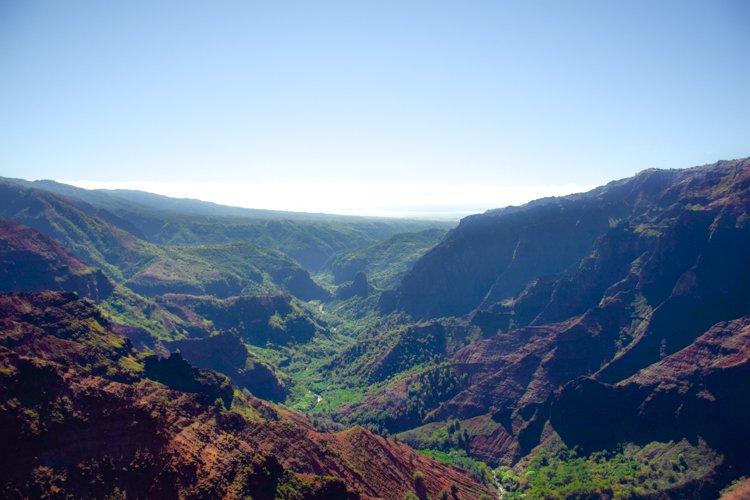 Waimea Canyon - Jack Harter Helicopter Tour Kauai