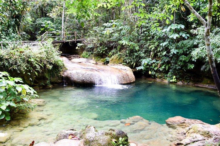 Cuba El Nicho Waterfalls