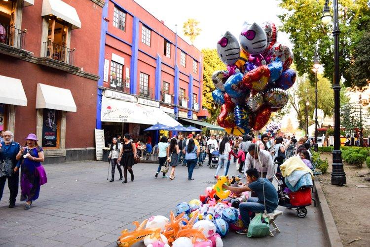 Things to do Mexico City - Coyoacán Neighborhood