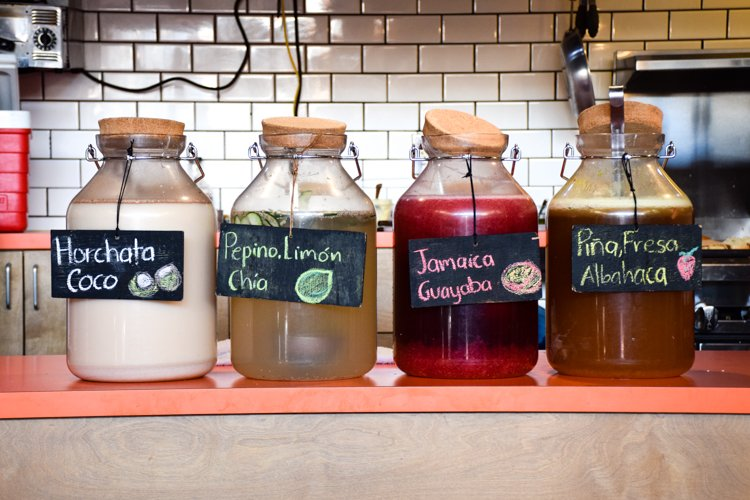 Things to do Mexico City - Agua Frescas