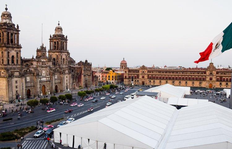 Historic Center - 20 Photos Inspire You to Visit Mexico City, Mexico