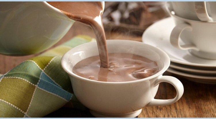 Champurrado (Atole de Cocoa) Mexican Non Alcoholic Drink