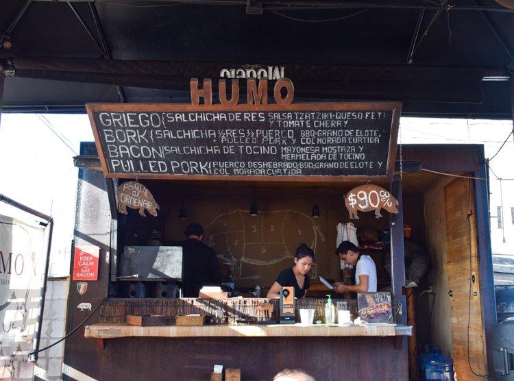 Tijuana, Mexico Hipster Scene, Telefónica Gastro Park, Humo Charcutería