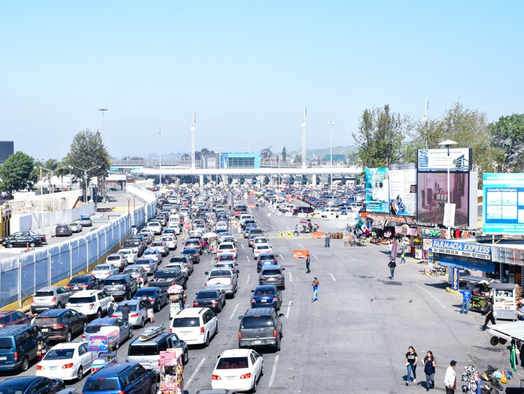 San Ysidro border crossing - Visiting Tijuana, Mexico