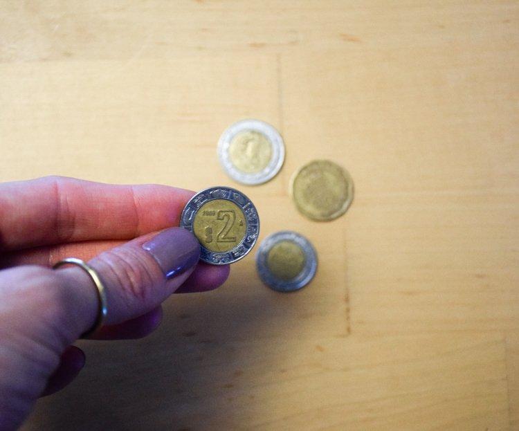 Visiting Tijuana, Mexico - Mexican Pesos