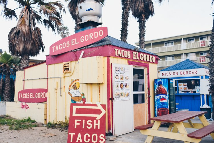 Tacos El Gordo - Mission Beach - Best Beaches in San Diego