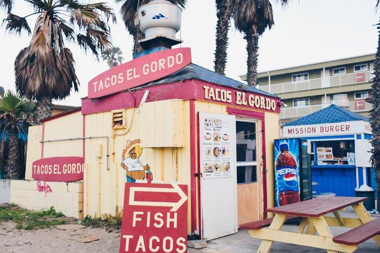 Tacos El Gordo - Mission Beach - Best Beaches in San Diego