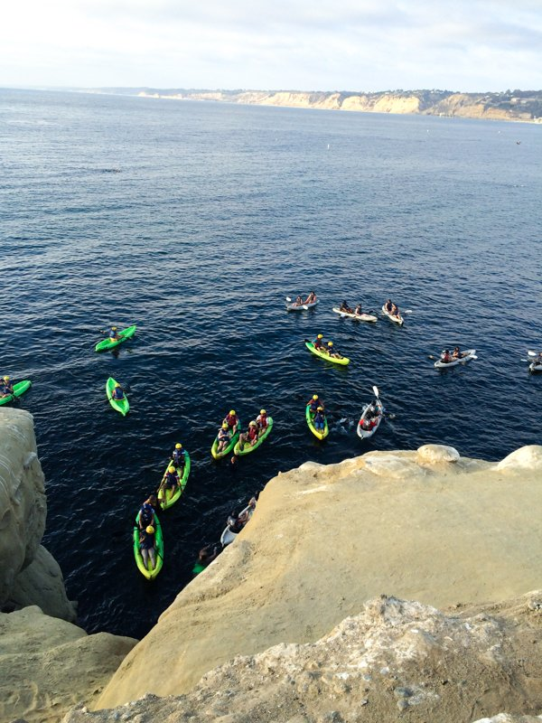 Kayaking - La Jolla Cove - Best Beaches in San Diego