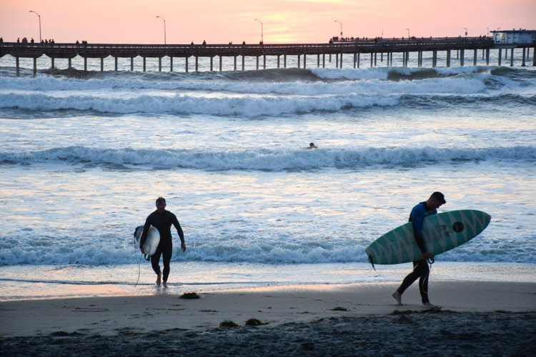 Surfing - Ocean Beach - Best Beaches in San Diego