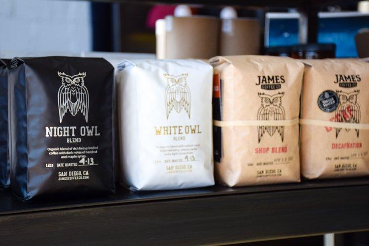 Best San Diego Coffee Shops - James Coffee Co