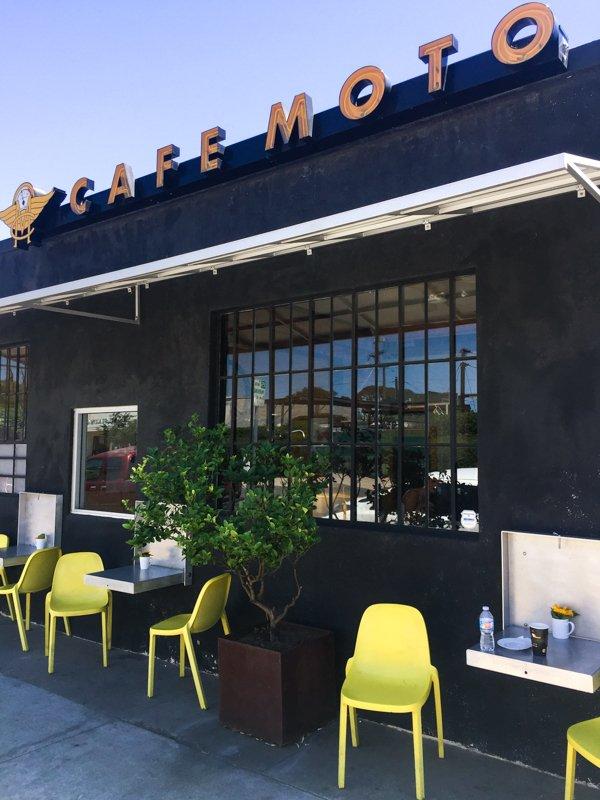 Best San Diego Coffee Shops - Cafe Moto