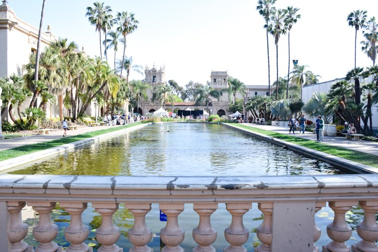 San Diego Bucket List - Botanical Building and Lily Pond - Balboa Park