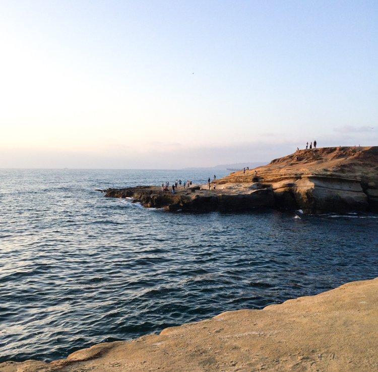 Sunset Cliffs - San Diego Instagram Spots