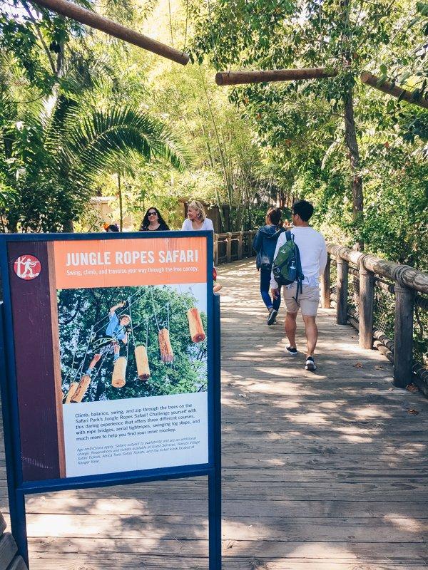 Jungle Ropes Safari - San Diego Zoo Safari Park