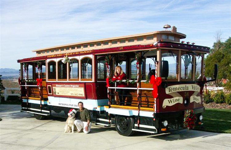 Cable Car Wine Tour - Temecula Valley Wineries