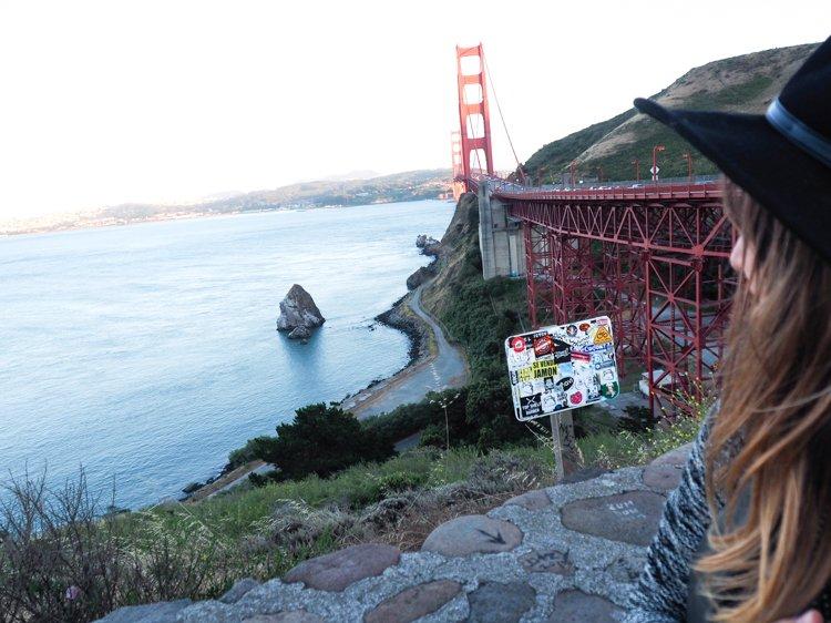 Vista Point - Best places to photograph golden gate bridge at sunset