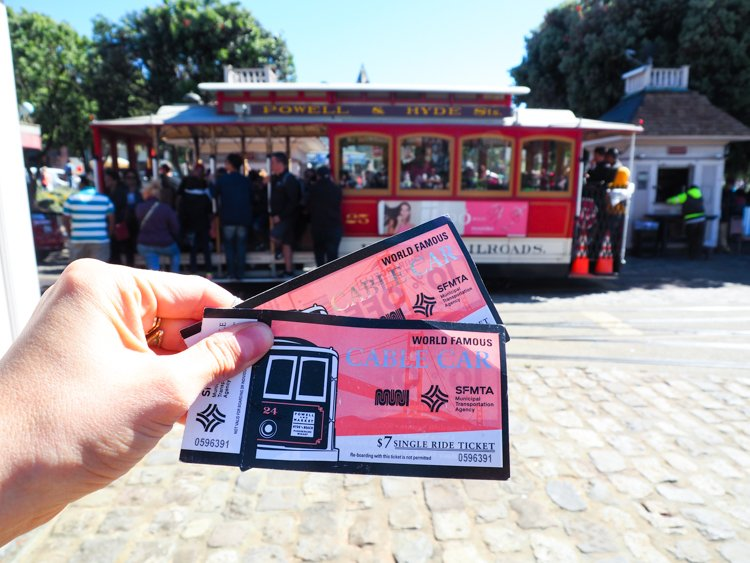 Cable Car - 48 Hours in San Francisco