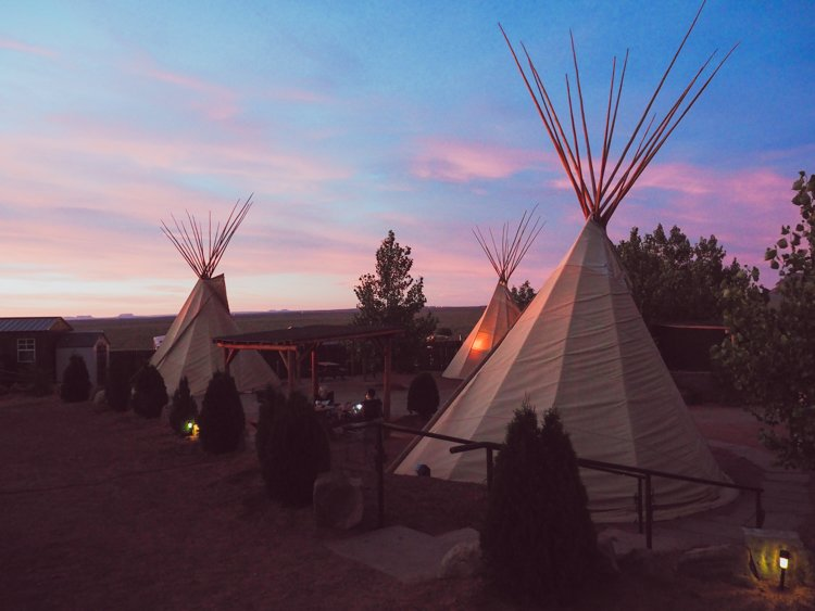 Monument Valley Tipi Village, Arizona