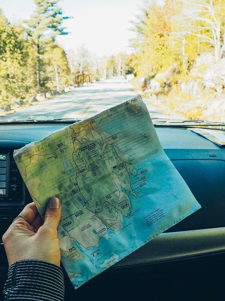 Park Loop Road Drive - Guide Acadia National Park