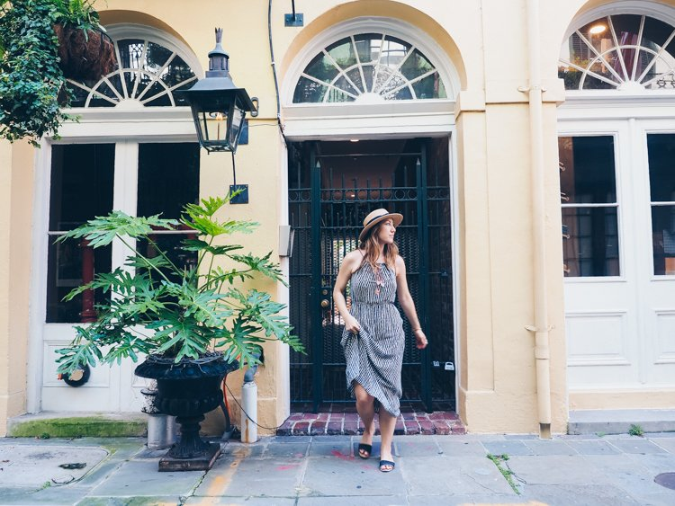 New Orleans - How to Take Amazing Photos of Yourself when Traveling Solo