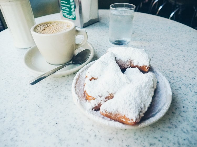 Beignet - Cafe Du Monde - Things you must do in the French Quarter