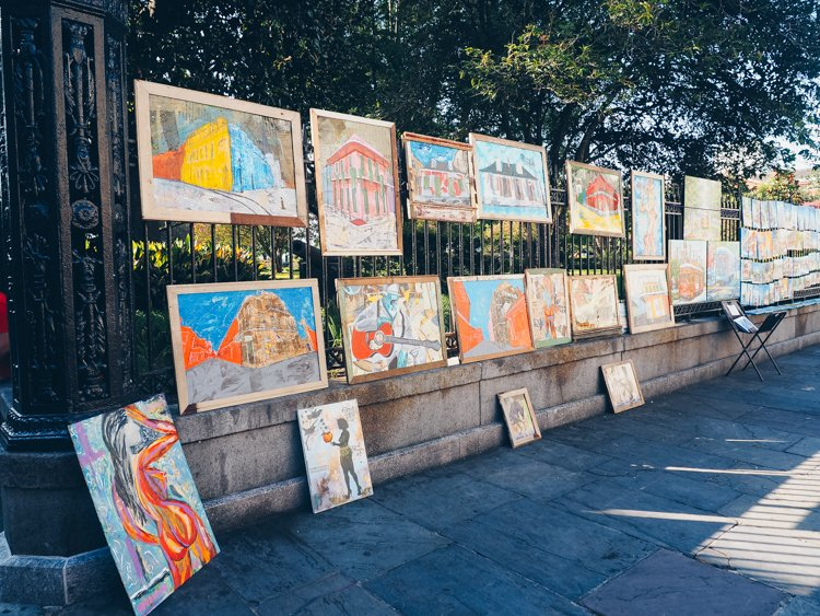 New Orleans photography - Jackson Square