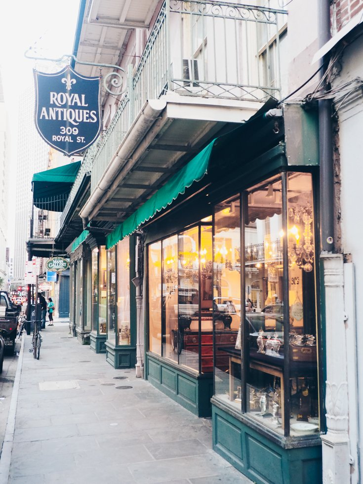 Royal Street - Things you must do in the French Quarter