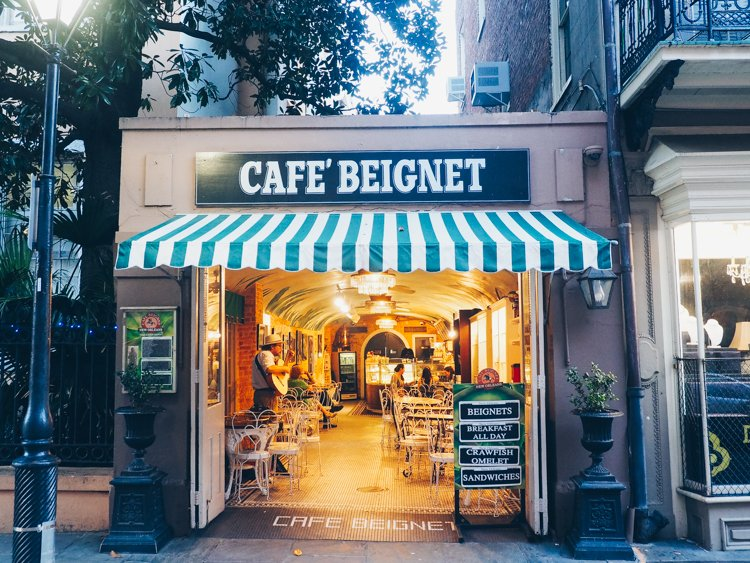 Cafe Beignet - The French Quarter - Visiting New Orleans