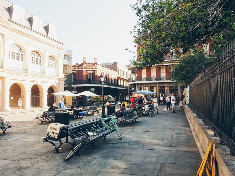 Jackson Square - The French Quarter - Visiting New Orleans