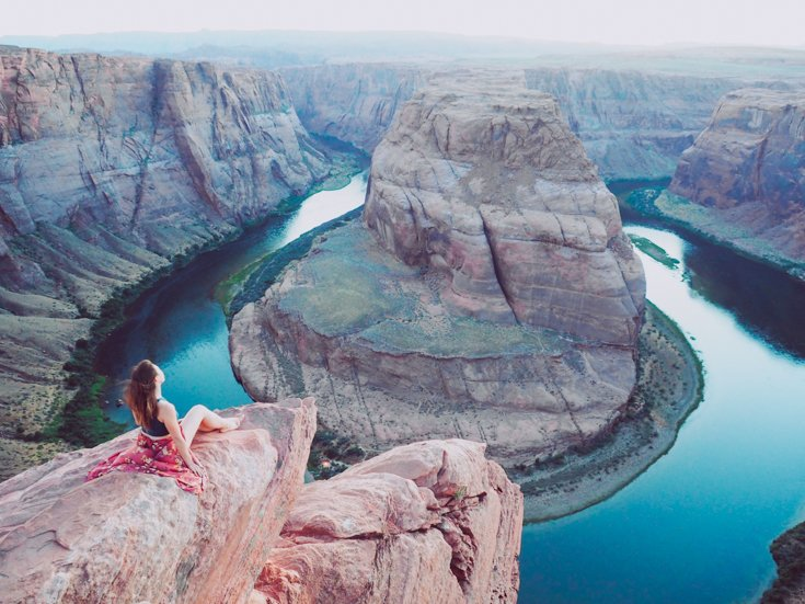 Horseshoe Bend, Utah - Tips for taking great photos of yourself