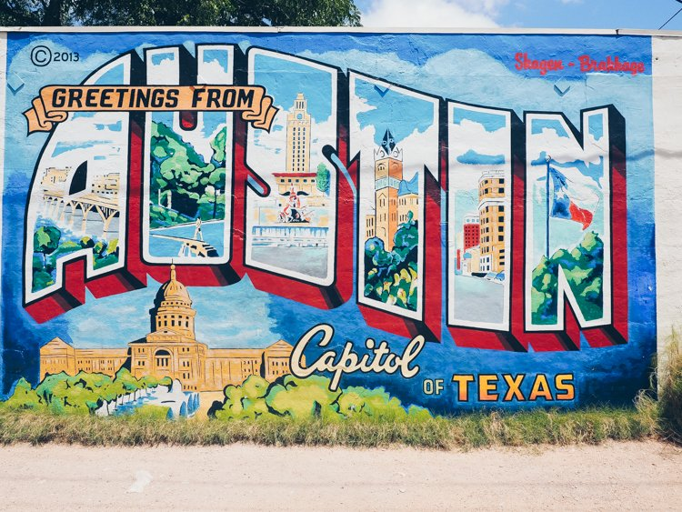 Greetings from Austin, Texas Mural - Things to do in Austin, Texas