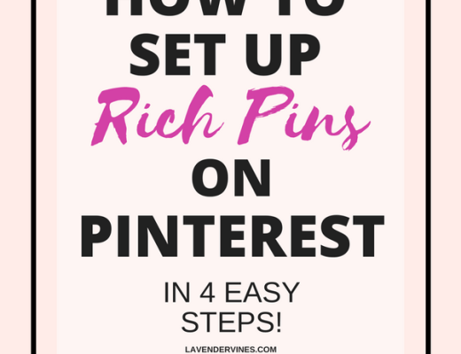 How to set up Rich Pins on Pinterest - 4 Easy Steps!