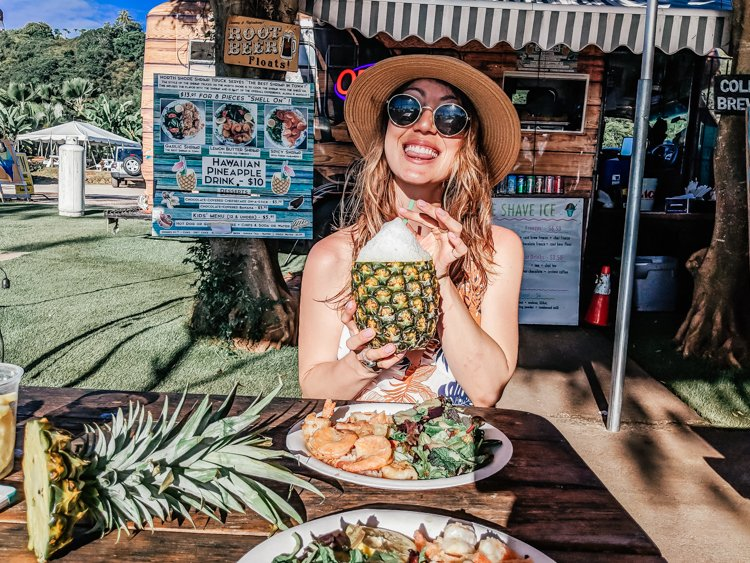 Things to do in Hawaii - The North Shore Shrimp Food Trucks