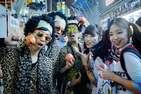 Halloween in Other Countries - Japan