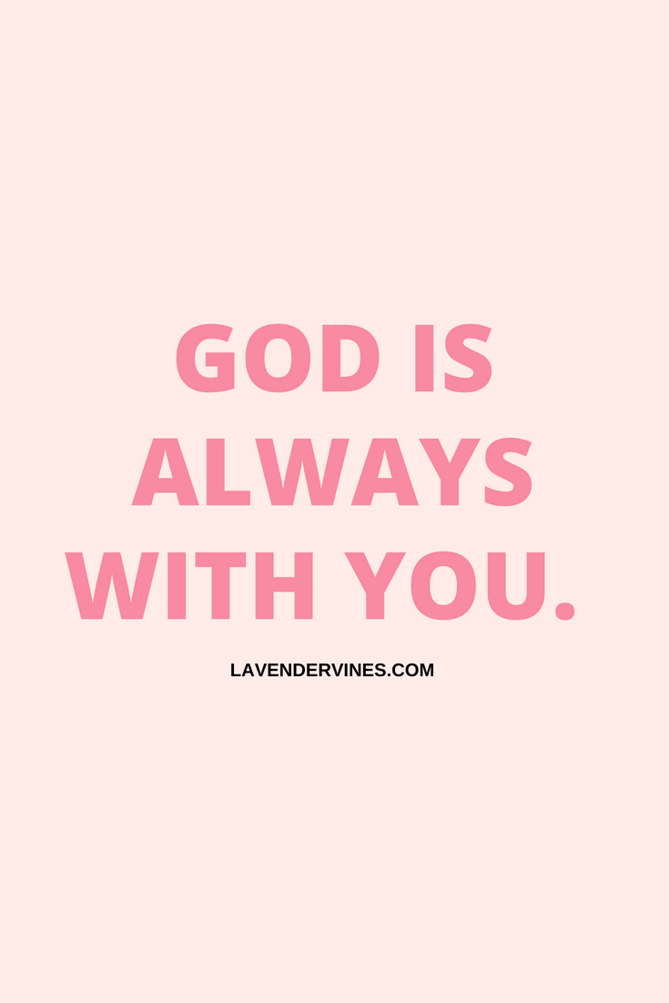 How to draw closer to God - GOD IS ALWAYS WITH YOU