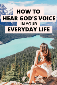 How to hear God's voice in your everyday life