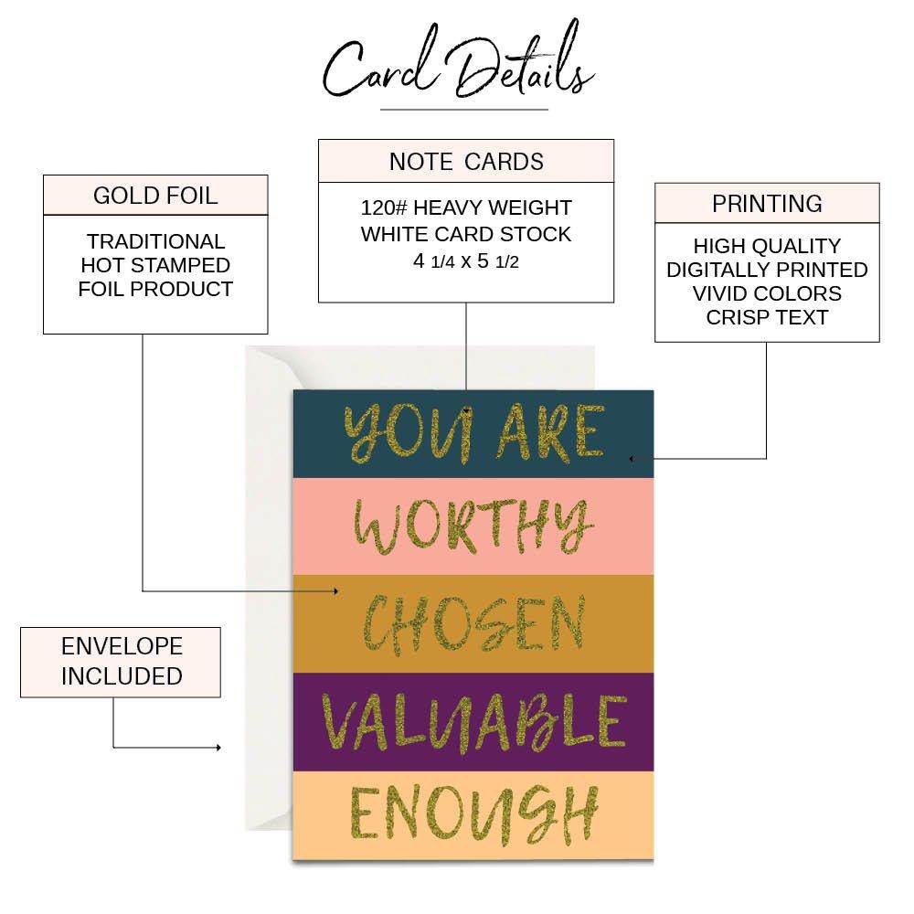 Christian encouragement cards - Lavender Vines - Infograhic
