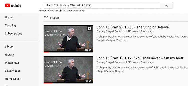 Top Bible Study Tips - Calvary Chapel Ontario YouTube